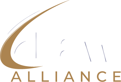 eLaw Alliance White Logo Medium