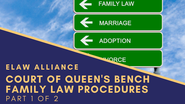 eLaw Alliance _ Youtube Thumb _ COQB Family Law Procedures 1