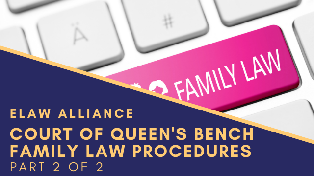 eLaw Alliance _ Youtube Thumb _ COQB Family Law Procedures 2