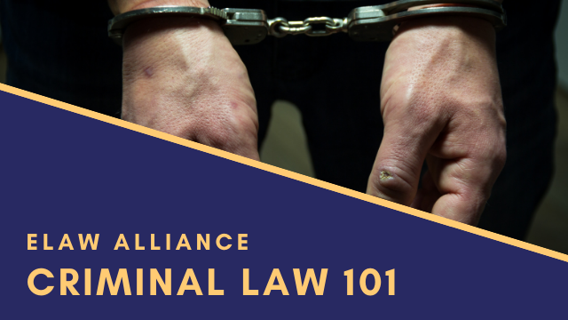eLaw Alliance _ Youtube Thumb _ Criminal Law 101